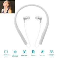 Wireless Bluetooth Earphone Stereo Sport Neckband Earbud For Motorola E G Huawei
