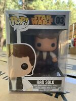 Funko POP! Han Solo Star Wars *NEW *Vaulted *Protector