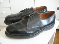 Vintage Original Dr Martens Steel Toe Shoes Stahlkappe UK 10 43 44 Punk Skinhead