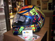 CASCO AGV INTEGRALE K3 SV REPLICA VALENTINO ROSSI FIVE CONTINENTS PLK TAGLIA MS