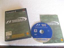 FORMULA ONE 2001 (2001) PS2 ORIGINALE IN ITALIANO INCOMPLETO, NO GIOCO NO GAMES