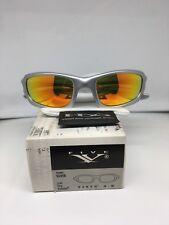 Oakley FIVE 4.0 Silver Fire iridium lens OO 9084 03-363