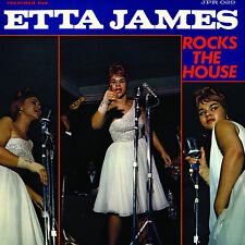 ETTA JAMES - ETTA JAMES ROCKS THE HOUSE Jackpot Records COLOR VINYL LP Sealed