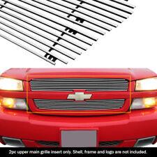 Fits 03-05 Chevy Silverado 1500/03-04 2500 Main Upper Billet Grille