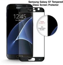 ZIZO TEMPERED GLASS 9H .33mm Screen Protector (Black Trim) For Samsung Galaxy S7