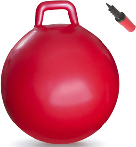 Hopper Ball Hippity Hop Jumping Hopping Therapy Ball Relay Races Red New