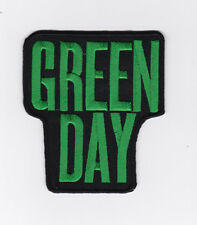 GREEN DAY  PATCH   ECUSSON   patch thermocollant  NOM VERT
