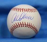 Al Oliver Steiner Coa Signed Major League Oml Baseball Autograph Authentic