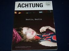 2009 ISSUE DECE ACHTUNG MAGAZINE - BERLIN, BERLIN -  FASHION MODELS - K 387
