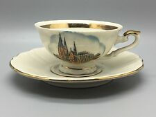 Bavaria porcelain China duo of cup & saucer - MPK - Grub aus koln