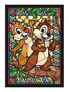 266 pieces Jigsaw Disney Chip & Dale Stained Glass Japan