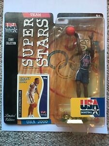 Mattel 2000 USA Basketball 2000 GRANT HILL Limited Edition Yellowing