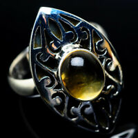 Large Citrine 925 Sterling Silver Ring Size 9 Ana Co Jewelry R23884F