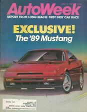AUTOWEEK 1987 APR 13 - PROBE, AC 428, GRAND PRIX, ALFA 164, EXCALIBUR, MINIVAN