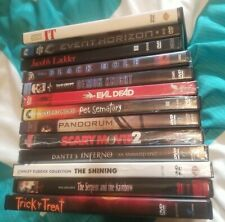 Horror Movie DVD Lot. 13 Movies IT. Trick or treat. The shining. –& More