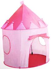 Roba Spielzelt Zelt pink Schloß rosa 1 Tür 2 Fenster Mädchenschloß 2-10 Jahre