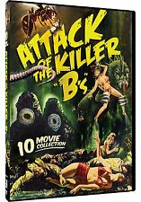 """ATTACK OF THE KILLER """"B'S"""": 10 MOVIE COLLECTION - DVD - Sealed Region 1"""