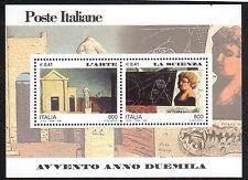 Italia Repubblica 2000 Foglietto Avvento dell'anno 2000 3° Emissione MNH**