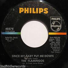 THE FLAMINGOS-Brooklyn Boogaloo-Rare Northern Soul - Doo Wop 45-PHILIPS #40378