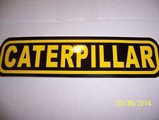 "CATERPILLAR 2"" X 9"" New Vinyl Sticker (Black and Yellow)"