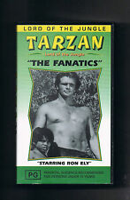 2 x TARZAN VIDEOS~ Ron Ely (THE FANATICS & THE THIEF CATCHER) vhs  RARE TITLES
