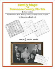 Family Maps Suwannee County Florida Genealogy FL Plat