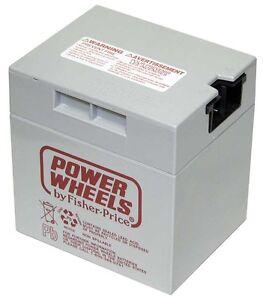 New Barbie Jammin Jeep Replacement Battery Power Wheels 12 Volt Mattel