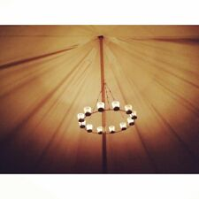 Chandelier Single Tier - Bell Tent Accessory