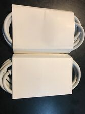 Lot of 2 100% Genuine Apple MacBook MagSafe 45W 60W 85W   6Ft Extension Cord