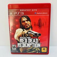 Red Dead Redemption (PlayStation 3, 2010) Includes The Map - Tested Working! EUC