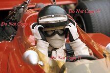 Jochen Rindt Gold Leaf Team Lotus 72C Winner Dutch Grand Prix 1970 Photograph 8
