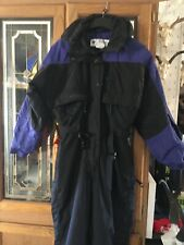Columbia Purple  Black Snow Suit Ski Snowboard Pants Jacket Womens Medium