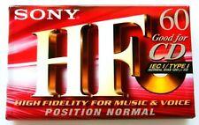 Sony HF 60 Premium Normal Position Type I Blank Audio Cassette Tape