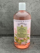 Crabtree and Evelyn Sweet Almond Oil Bath and Shower Gel 16.9 oz - NEW
