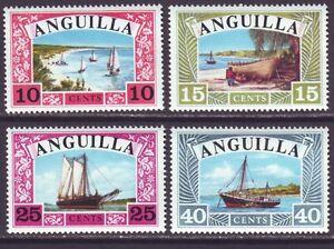 Anguilla 1968 SC 32-35 MNH Set Boat