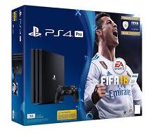 Sony PlayStation 4 Pro FIFA 18 1TB Jet Black Console