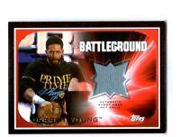 WWE Darren Young 2016 Topps RTWM Event Used Battleground Mat Relic Card 115 /199