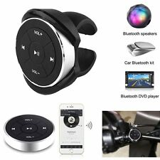 Wireless Bluetooth Media Remote Control Button Car Steering Wheel Bike Mounting