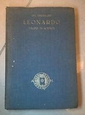 LEONARDO PAGINE DI SCIENZA TIMPANARO 1926