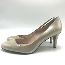 8432c5e9397f Vince Camuto Pearly Gold Pumps 10 40 EU Leather 3
