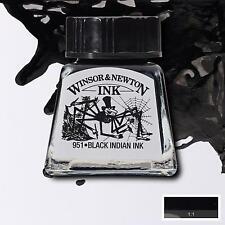 Winsor & Newton Drawing Ink 14ml Bottle - 26 Colours, Brush, Dip Pen, Airbrush