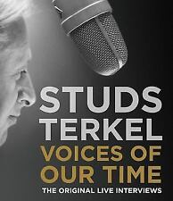 STUDS TERKEL Voices of Our Time Original Live Interviews 6CD SEALED NEW 2005