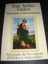 SAN JUDAS TADEO libro enigmatico NOVENARIO y DEVOCIONARIO