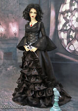 1/3 BJD 62-65cm female doll outfit Iplehouse EID SID gothic dress set ship US
