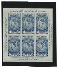 U.S. stamps, Scott # 735 S/S Pane of 6, Unused, NH