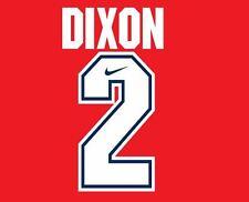 Dixon #2 Arsenal Camisa de fútbol local para hogar 1994-1995