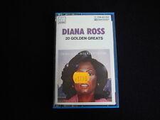 Vintage Cassette Tape Diana Ross 20 Golden Greats Used   Nr 6062