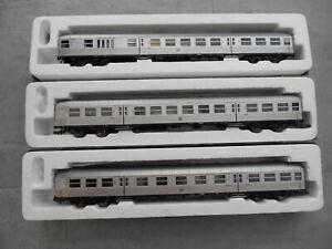 Roco 45492,64313,64312 Silberlinge, DB, Ep. III, digitale LED-Innenbel., OVP