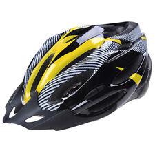 La bici di riciclaggio del casco di protezione regolabile Giallo G3B5