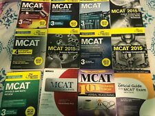 princeton review MCAT books (EACH)